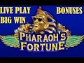 Pharaoh S Fortune Live Play Bonuses And Big Win Free Spins Slot Machine Pokie mp3