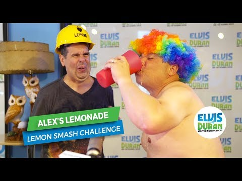 Greg T and Skeery Smash Lemons for Alex's Lemonade Stand | Elvis Duran Exclusive
