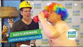 Greg T and Skeery Smash Lemons for Alex's Lemonade Stand | Elvis Duran Exclusive