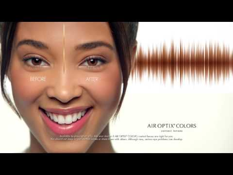 Enhance Your Eye Color With AIR OPTIX® COLORS