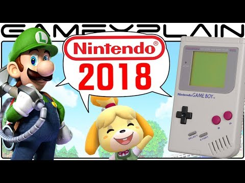 Nintendo in 2018 Discussion Q&A - 20 of YOUR Questions Answered (Game Boy Classic, LM3, More!)
