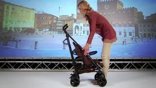 видео Коляска трость inglesina trip, коляска трость inglesina trip с бампером отзывы