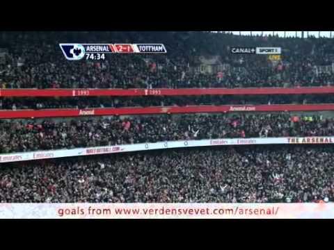 38) Arsenal vs Spurs 2-1 (Bendtner).mkv
