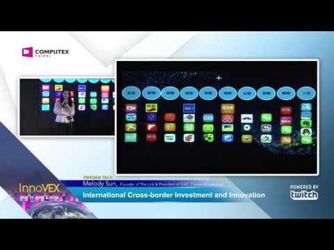 2016 InnoVEX Pi Stage-Keynote Speech-International Cross-border Investment and Innovation