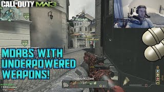 DOUBLE MOAB DOMINATION WITH UNDERUSED WEAPONS! - MW3 PC 2019
