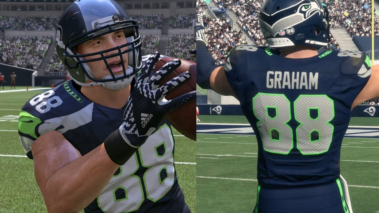 d48ac2f79 JIMMY GRAHAM THROUGH THE YEARS - MADDEN 11 - MADDEN 18 - YouTube
