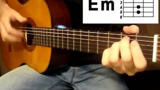 Как играть на гитаре песню Кино Пачка сигарет