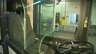 Metro Transit Testing Barriers To Protect Bus Drivers