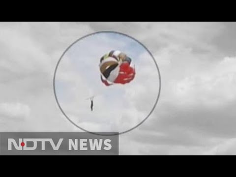 Coimbatore man falls to death while parasailing, descent captured on video