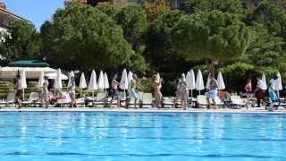 Turkey, Antalya, Kremlin Palace - dance at the pool (October 2013)