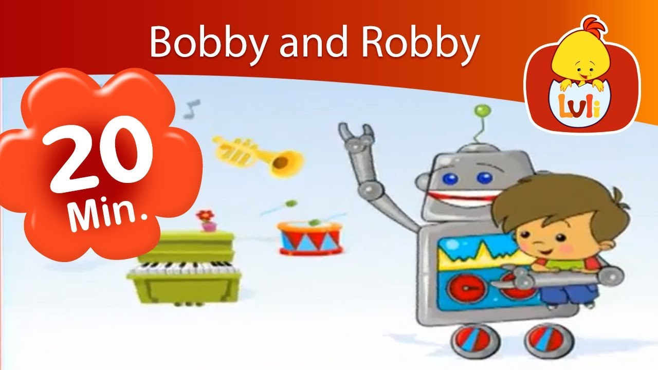 Bobby and Robby | Luli TV Specials | Cartoon for Children - Luli TV
