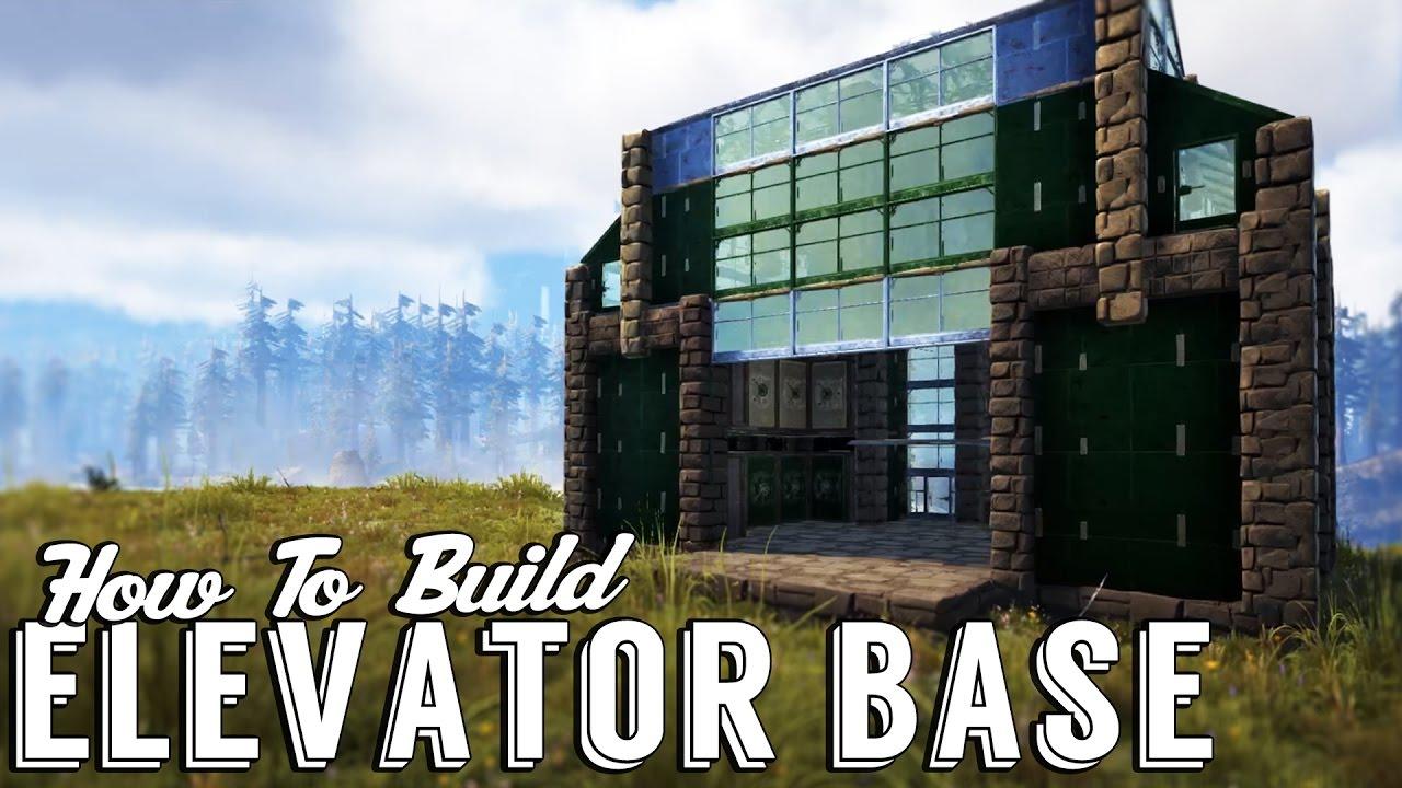 Building Built With No Elevator : Ark elevator workshop build guide base