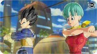 Bulma and Vegeta Fusion: Bulgeta VS Black Goku Rose - Tribute to Hiromi Tsuru - Xenoverse 2 mod