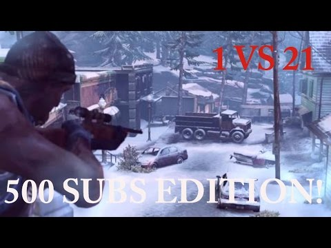 1 vs 21 Comeback! (500 Subscriber Edition) - The Last of Us: Remastered Multiplayer