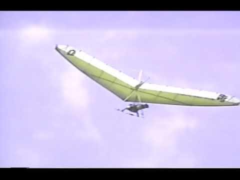 Caribbean Hang Gliding 1987 - in the British Virgin Islands