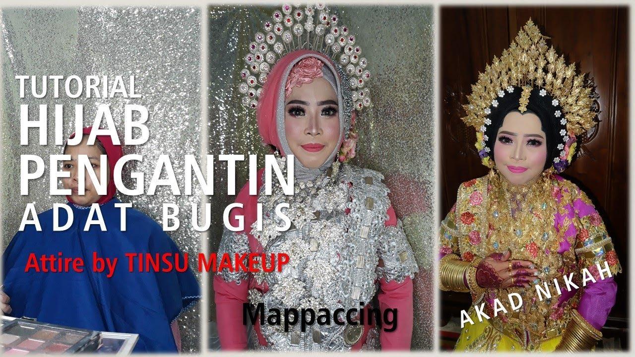 Tutorial Hijab untuk Malam Mappaccing & Attire by TINSU - YouTube