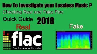 flac Music Real or Not (Lossless) Quick Guide  2018
