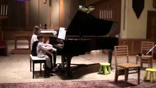 "Video H. Clay ""Grandfather's Clock"" & W.A. Mozart ""A Little Night Music"" - Milton Tran download MP3, 3GP, MP4, WEBM, AVI, FLV April 2017"