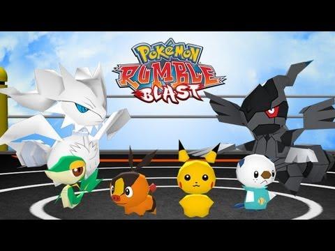 Pokemon Rumble Blast ALMOST ALL PASSWORDS+How To Put A Password In Pokemon Rumble Blast
