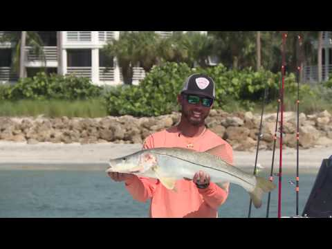 Snook And Redfish Out Of South Seas Island Resort With Leo From Make-A-Wish Fishes With Peter Miller