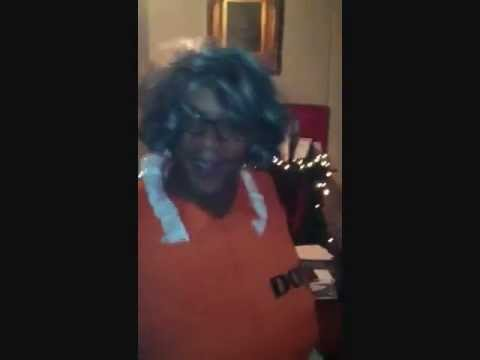 Derrick Tucker as Madeleine Simmons  Tyler Perry Auditions