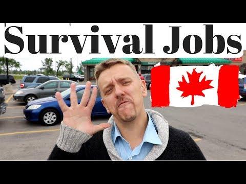 Survival Jobs In Canada