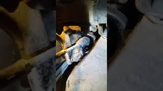 Зафира А замена втулок и стойек стабилизатора