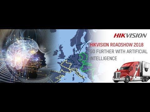 Hikvision's Europe AI Roadshow 2018 trailer