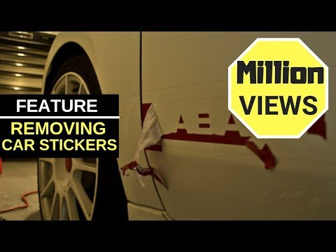 How to remove sticker glue from car paint youtube