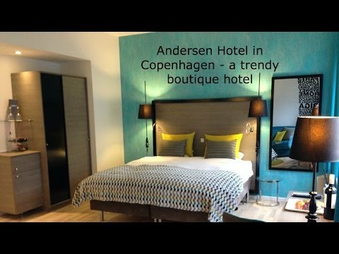 Andersen Boutique Hotel in Copenhagen - a quick tour