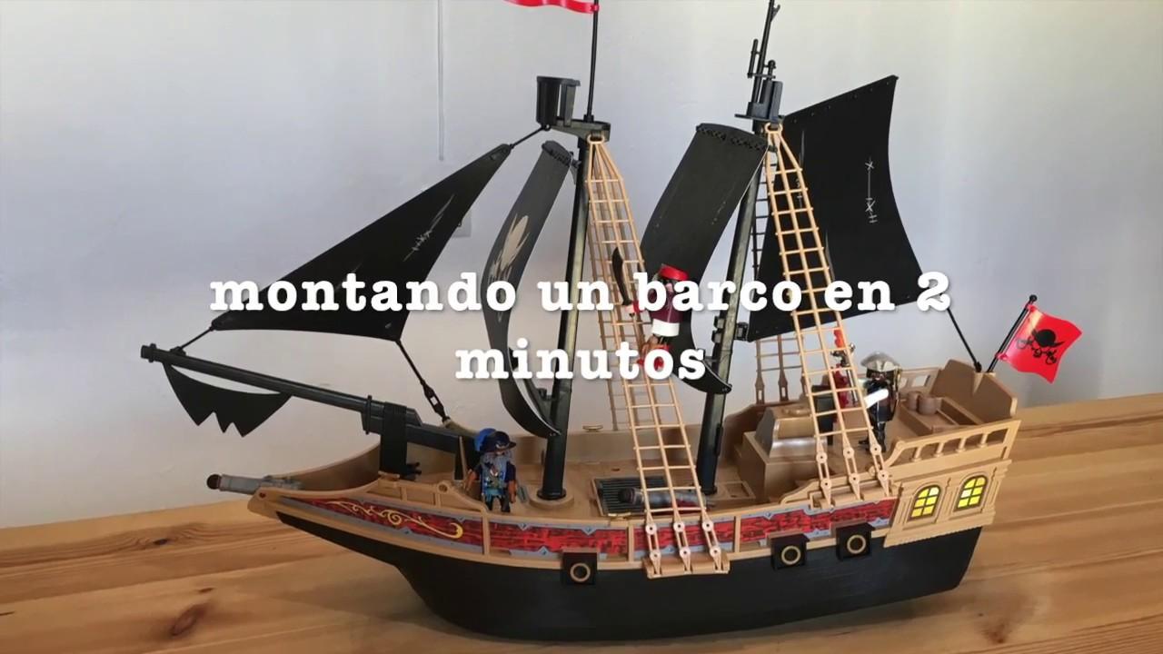 Barco pirata playmobil montado en 2 minutos video fotos for Barco pirata playmobil