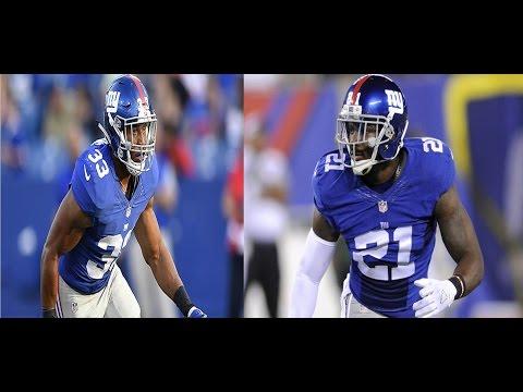 Landon Collins & Andrew Adams vs Eagles (NFL Week 9 - 2016) - Beasts!   NFL Highlights HD