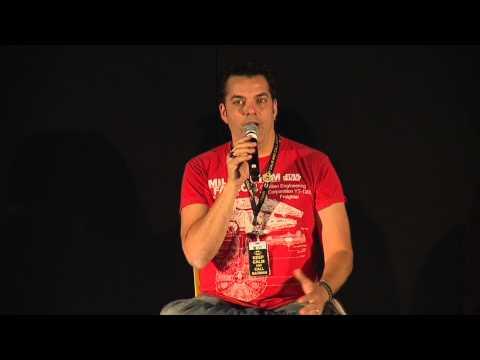 Voice Actors Robin Atkin Downes, Lex Lang & Sandy Fox - MCM London Comic Con Oct '14