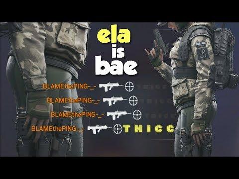 Ela is Bae - Rainbow Six Siege