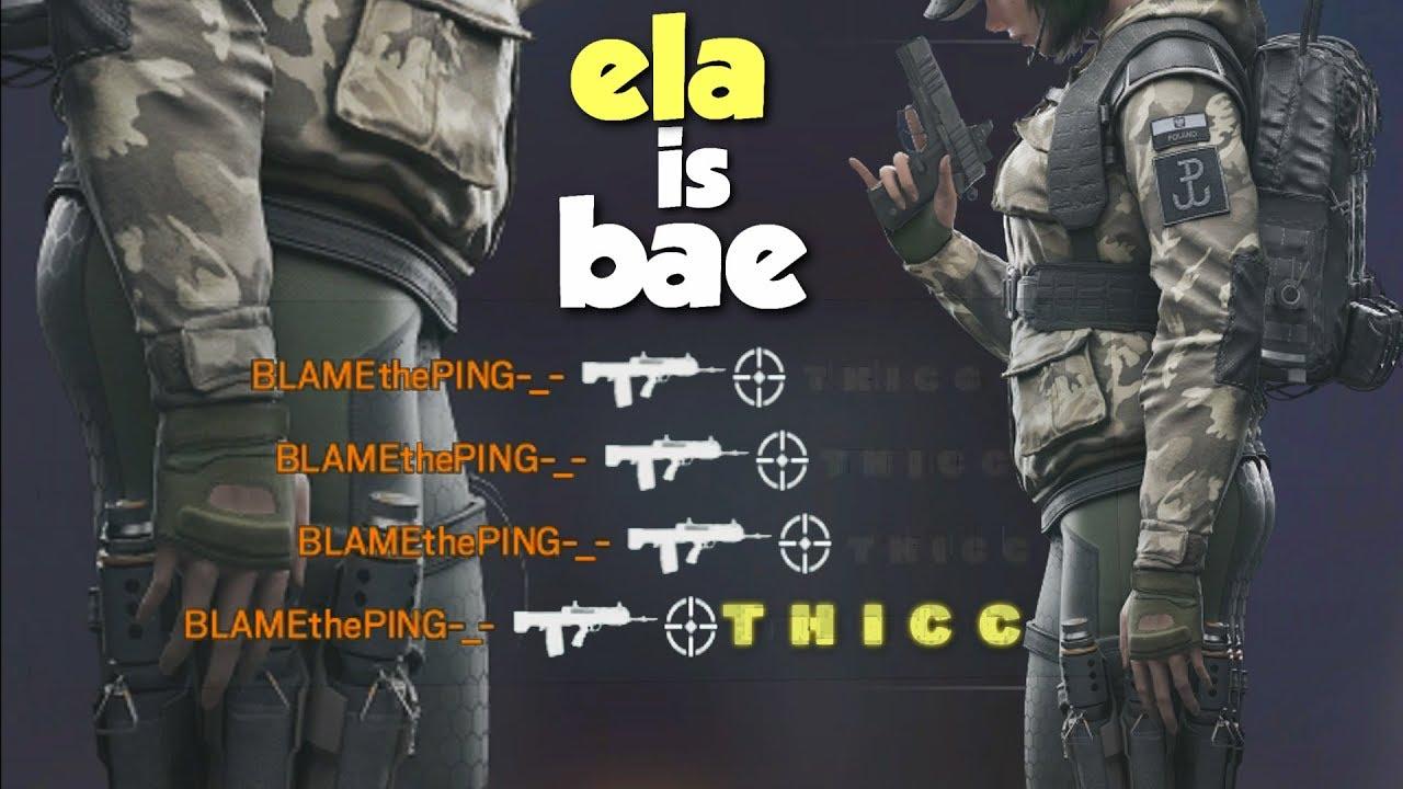 Ela is Bae - Rainbow Six Siege - YouTube
