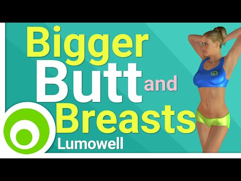 5 Minute Bigger Butt and Breasts Workout