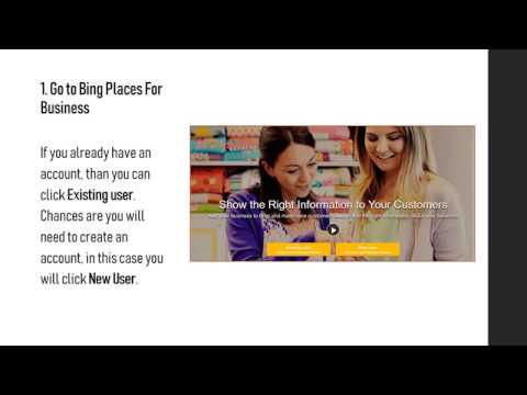 How to add and claim your Bing business listing
