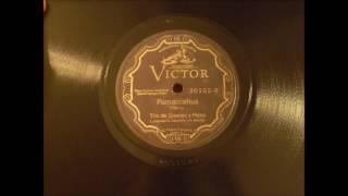 Trio de Quenas y Piano - Pumaccahua (June 1930)
