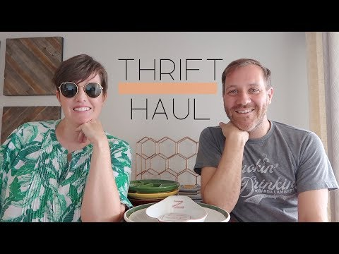 THRIFT HAUL #5 - Ray Bans, Vintage, Palm Springs, and More! I A THRIFTY MISS