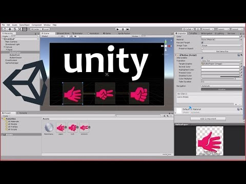 Unity3D - Rock, Paper and Scissor