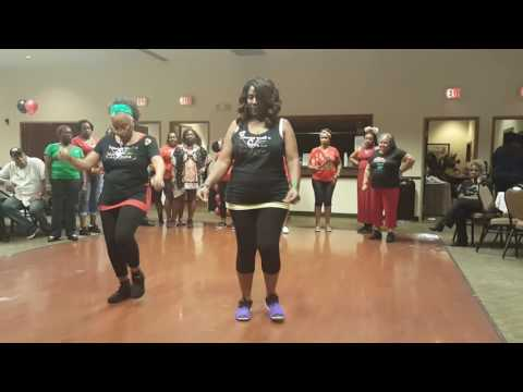 SOSU WONDER LINE DANCE DEMO BY NATALIE WILLIAMS AND MARTHA TAYLOR