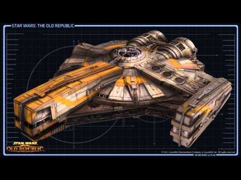 STAR WARS™: The Old Republic™ - Ships - Corellian  XS-Light Freighter  [HD]