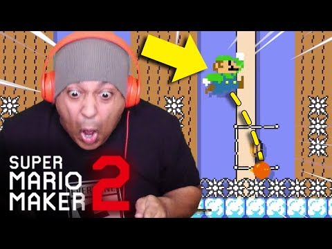 ANXIETY METER IS OFF THE CHARTS!! [SUPER MARIO MAKER 2] [#37]