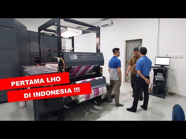 Percetakan Kemasan Flexibel Digital Pertama di Indonesia