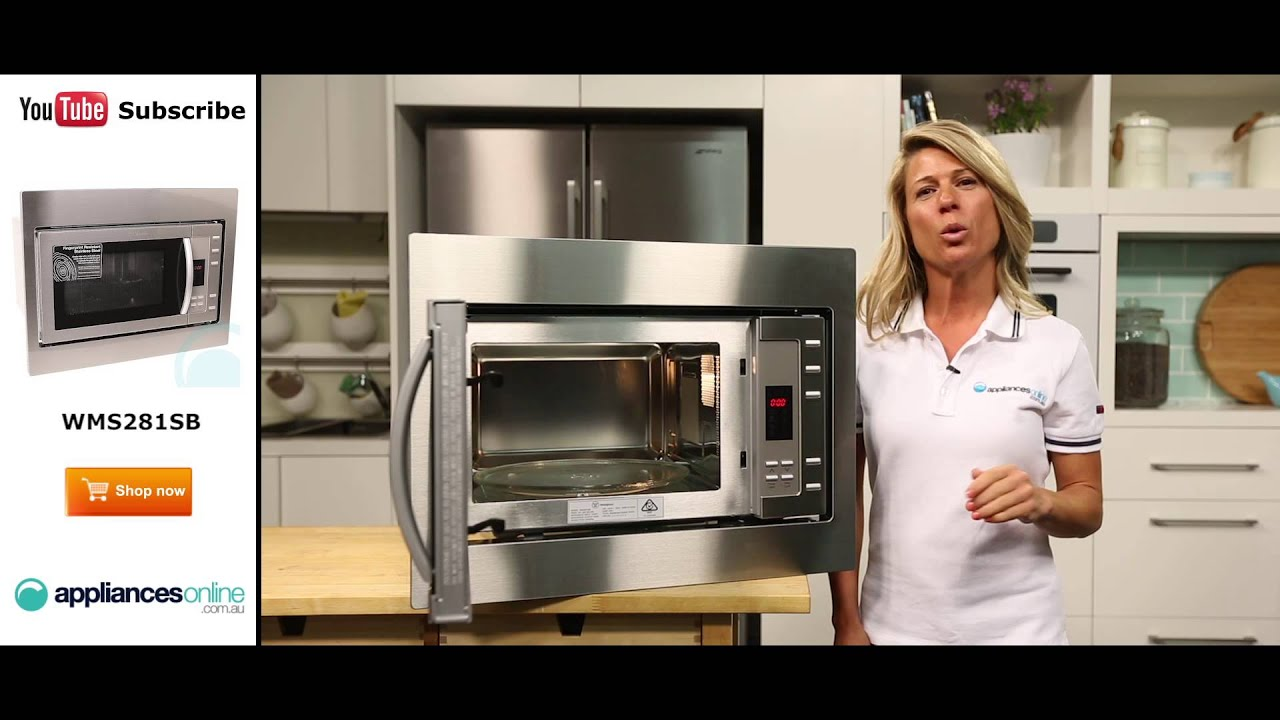 Westinghouse Kitchen Appliances Westinghouse Microwave Wms281sb Reviewed By Expert Appliances