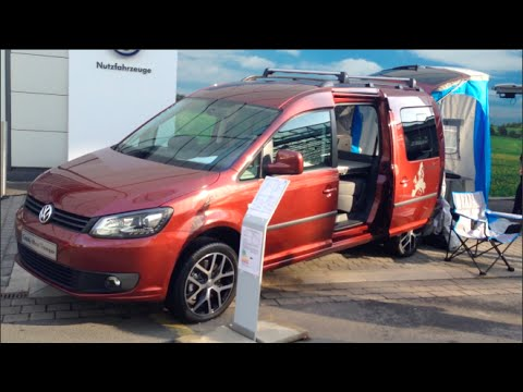 volkswagen caddy maxi tramper 2015 in detail review walkaround interior exterior youtube. Black Bedroom Furniture Sets. Home Design Ideas