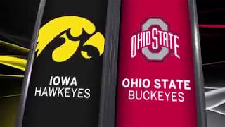 Big Ten Basketball Highlights - Iowa at Ohio State