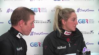 Jumping Jockeys: Jim Crowley vs Josephine Gordon