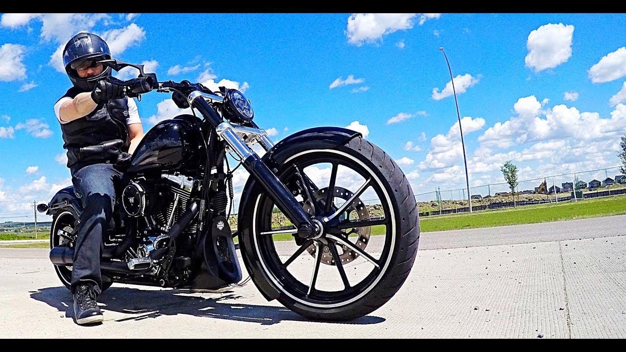 Trip to Kane Harley Davidson - Calgary - YouTube