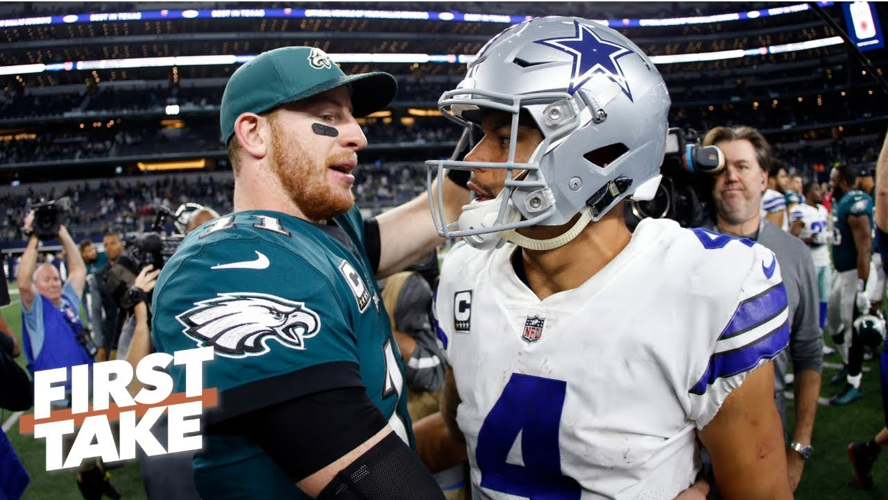Dak Prescott is right there with Jared Goff and Carson Wentz – Will Cain | First Take